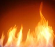 Feuerflammen Lizenzfreie Stockfotos