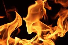 Feuerflammen Lizenzfreies Stockfoto