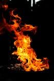Feuerformen Stockfotos