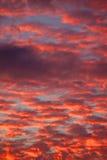 Feuerhimmel lizenzfreie stockfotos