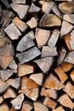 Feuerholz Stockfoto