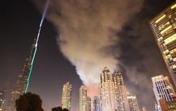 Feuerhotel in Dubai Lizenzfreie Stockfotografie