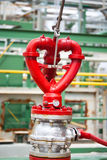 Feuerhydrant in der Fabrik Lizenzfreie Stockbilder