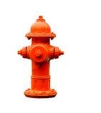 Feuerhydrant getrennt mit Pfad Lizenzfreies Stockbild