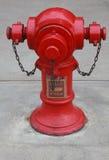 Feuerhydrant in Hong Kong Stockfotografie