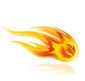 Feuerkugel orcomet Illustration stock abbildung