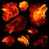 Feuerkugeln Stockbilder