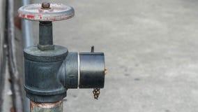 Feuerlöscher für erste Gemeinschaft der Sicherheit stockfoto