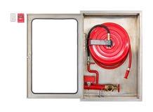 Feuerlöscherkabinett Stockbild