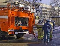 Feuermaschine Lizenzfreies Stockbild
