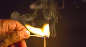 Feuermatch Stockbilder