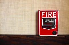 Feuermelder-Kasten lizenzfreies stockbild