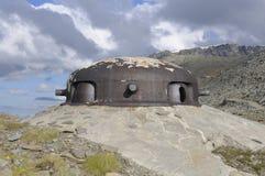 Feuermitte n°8 - Mont Cenis Stockbild