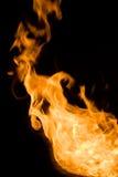 Feuern Sie Flammen ab stockfotografie