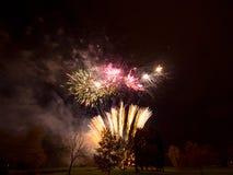 Feuernacht Lizenzfreie Stockfotografie