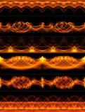 Feuerränder Lizenzfreie Stockfotos