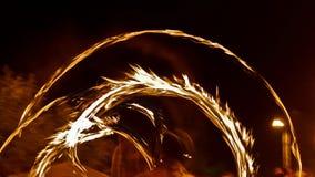 Feuershow 14 Stockbilder