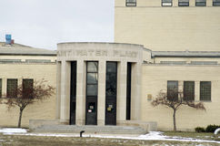 Feuerstein, Michigan: Stadt von Flint Water Plant Stockbild