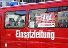 Feuerwehr Einsatzleitung Image libre de droits
