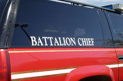 Feuerwehr-Fahrzeug Stockfotos