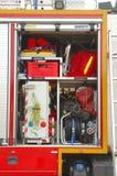 Feuerwehrausrüstung Stockfoto