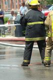 Feuerwehrmänner Stockfotos