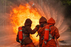 Feuerwehrmänner stockbilder