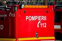 Feuerwehrmänner 112 Lizenzfreie Stockfotos