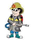 Feuerwehrmann stock abbildung