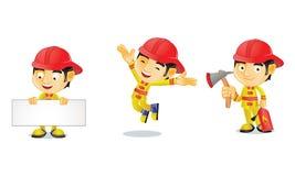Feuerwehrmann 1 stock abbildung