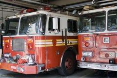 Feuerwehrmann-LKW Stockbilder