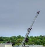 Feuerwehrmann-Reihenquadrat zwei von acht Lizenzfreies Stockbild