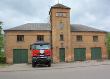 Feuerwehrmannauto Lizenzfreies Stockbild