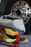 Feuerwehrmannmatten Lizenzfreies Stockfoto