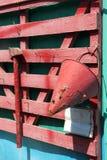 Feuerwehrmannschild lizenzfreie stockfotografie