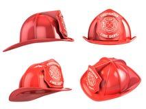 Feuerwehrmannsturzhelm Lizenzfreies Stockbild