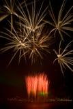 Feuerwerk. Stockfotografie