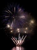 Feuerwerk. Stockfoto