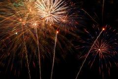 Feuerwerk. Lizenzfreie Stockfotografie