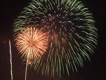 Feuerwerk   Stockbild