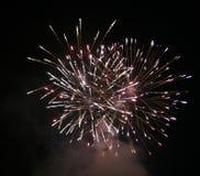 Feuerwerk stockfotos