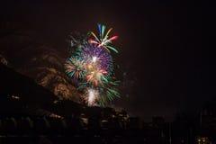 Feuerwerk Стоковые Фото