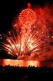 Feuerwerk-Erscheinen stockbilder