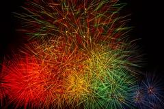 Feuerwerk-Erscheinen. Lizenzfreies Stockfoto