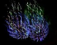 Feuerwerk (Feuerwerke) - Fotos auf Lager Lizenzfreie Stockfotos