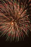 Feuerwerk-Impuls lizenzfreie stockbilder