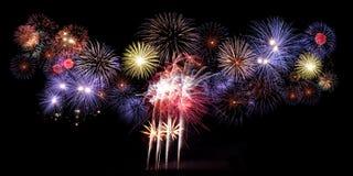 Feuerwerk, neues Jahr Lizenzfreie Stockfotos