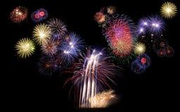 Feuerwerk, neues Jahr Stockfotos