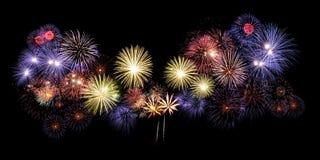 Feuerwerk, neues Jahr Stockbild