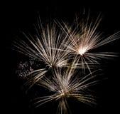 Feuerwerkauszug Stockfoto